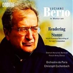 Luciano Berio: Rendering /...
