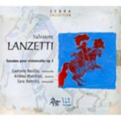 Salvatore Lanzetti: Sonates...