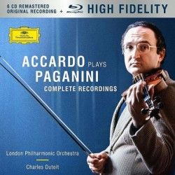 Accardo Plays Paganini -...