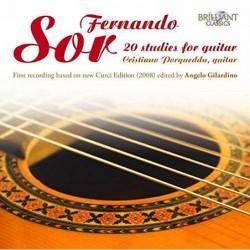 F. Sor: 20 Studies For Guitar