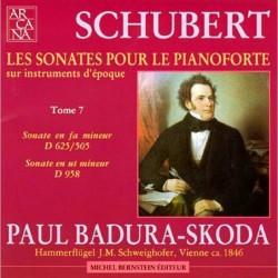 Franz Schubert: Sonates...