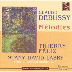 Claude Debussy: Melodies