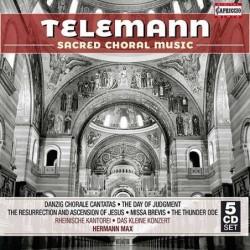Telemann: Sacred Choral...