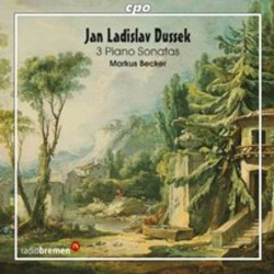 Dussek: Piano Sonatas opp....